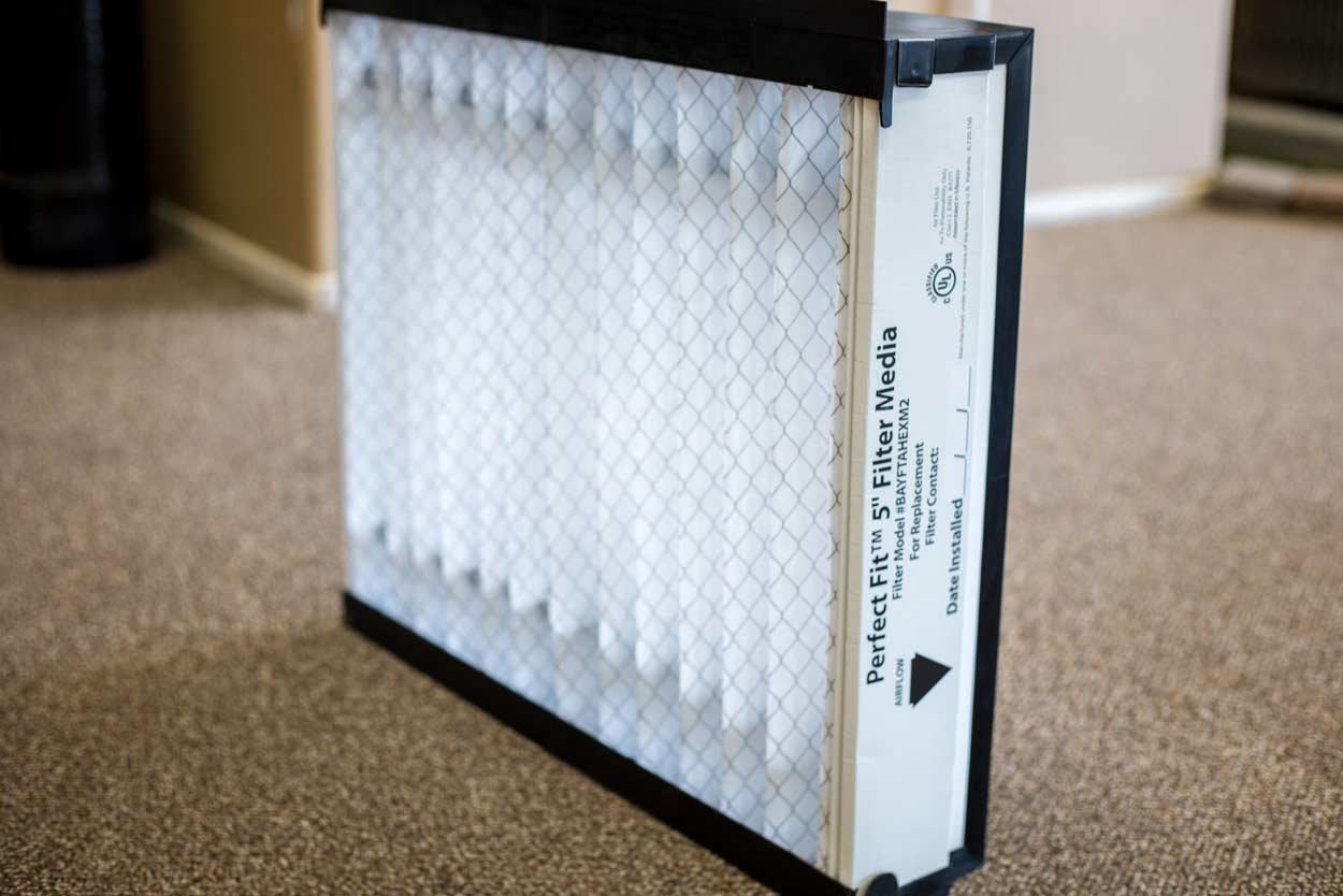 higher rated air filter for hvac system by canyon state heating and cooling surprise az